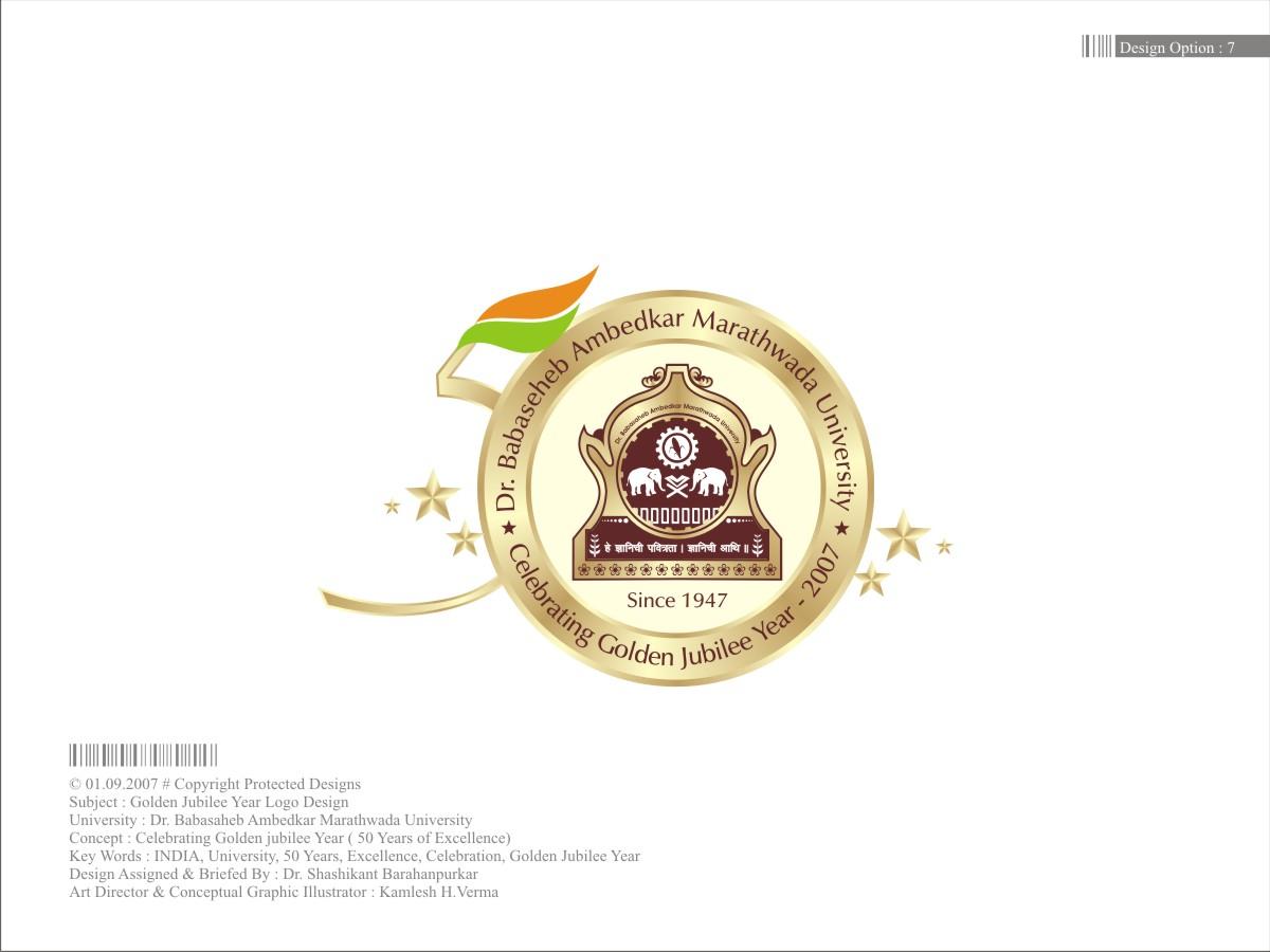 golden jubilee logo Free logo maker  Logo Design and