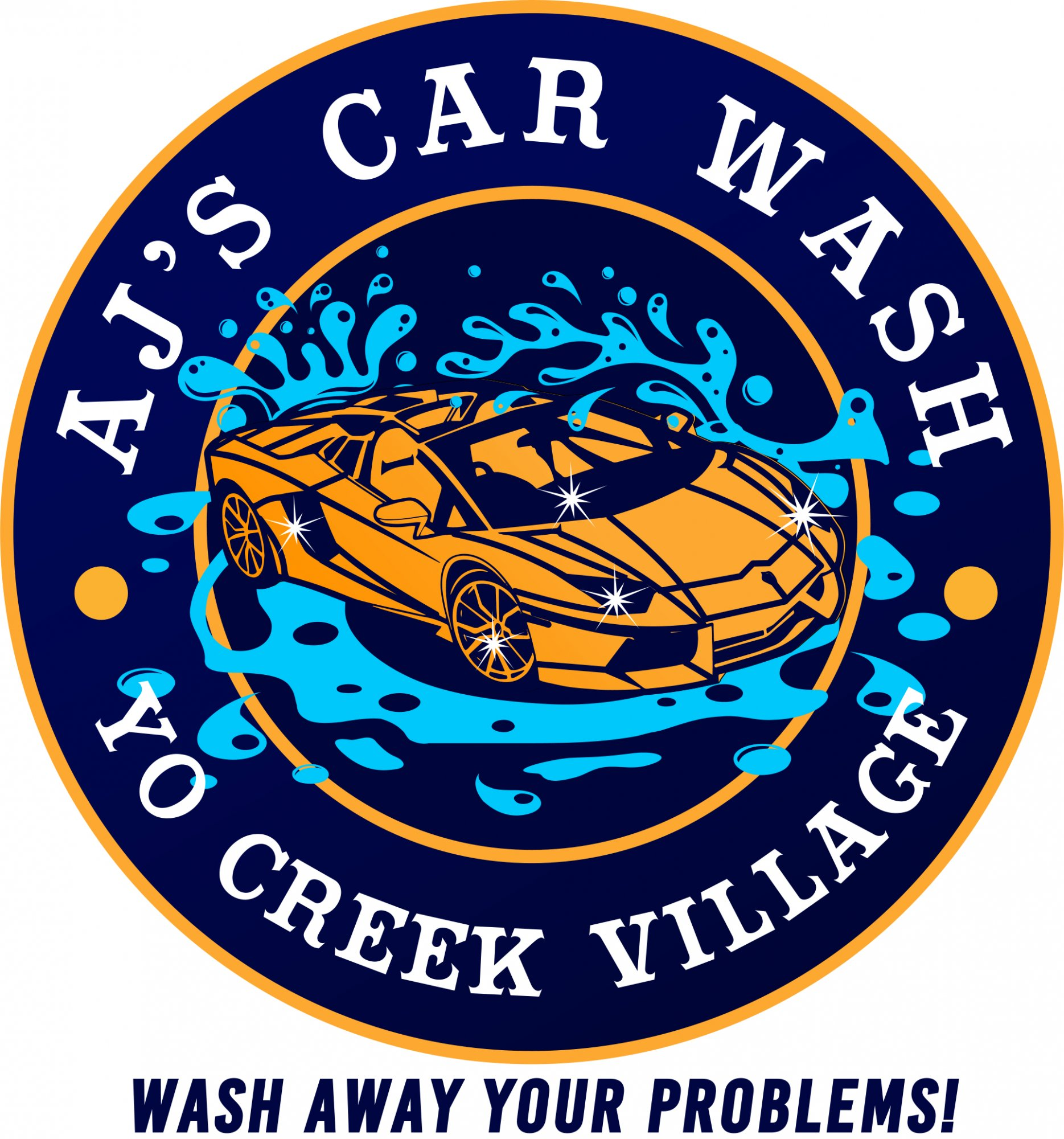 Car Wash Logo Here In Belize