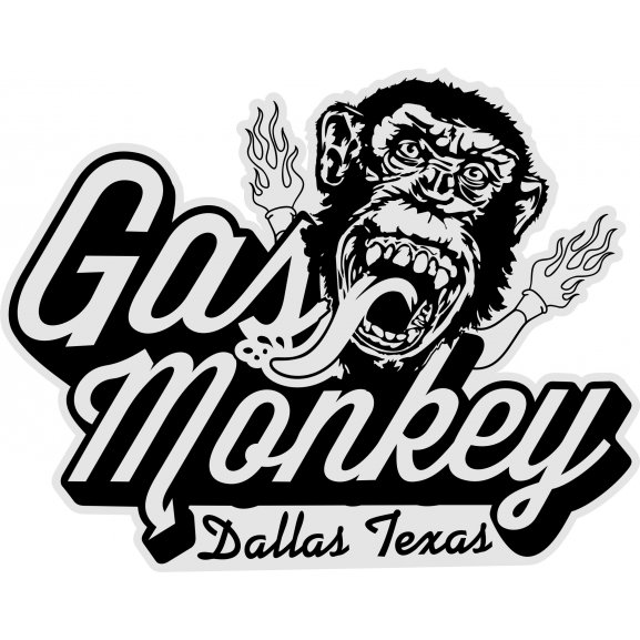 Gas Monkey Emblem: Brands Of The World™