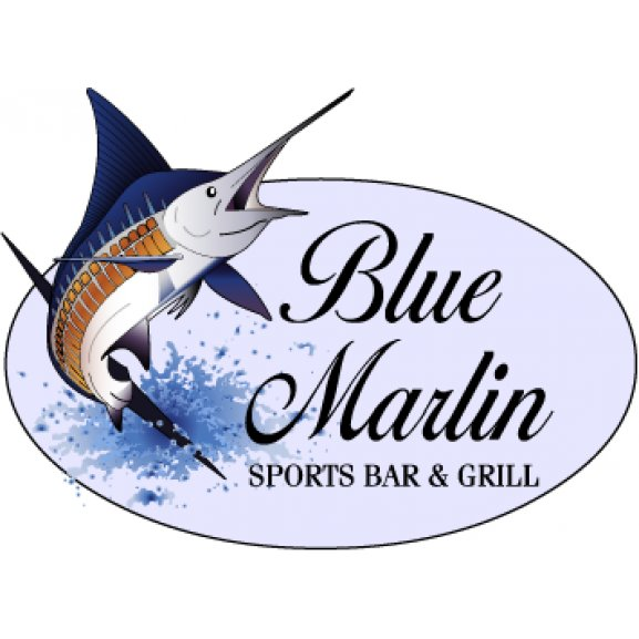 blue marlin cafe brands of the world� download vector