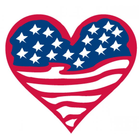 American Flag Heart   Brands of the World™   Download ...