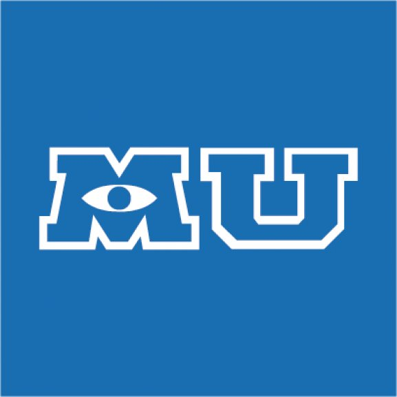 Logo of Monsters University
