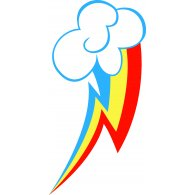 Logo of Rainbow Dash Cutie Mark