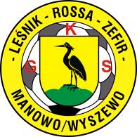 Logo of GKS Leśnik Rossa Zefir Manowo