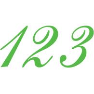 Logo of 123 design