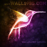 Logo of WALL1985.com - Wallpaper Design