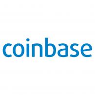 Logo of Coinbase inc.