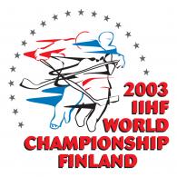 Logo of 2003 IIHF World Championships Finland