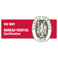 Logo of ISO 9001 Bureau Veritas