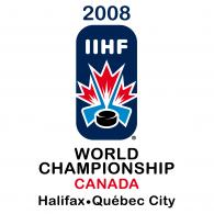 Logo of IIHF 2008 World Championship