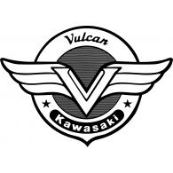 Black White Kawasaki Vulcan