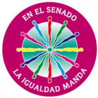Logo of En El Senado Igualidad Manda