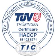 Logo of TUV Cert HACCP