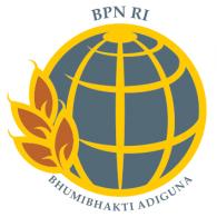 Logo of Badan Pertanahan Nasional
