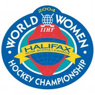 Logo of Women's World Hockey Championship 2004