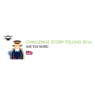 Logo of SNCF Challenge Story Telling 2016