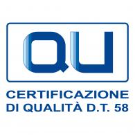 Logo of QU Certificazione Qualità DT58