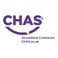 Logo of CHAS Accredited Contractor