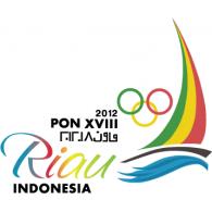 Logo of PON XVIII 2012 Riau - Indonesia