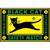 Logo of Black Cat Safety Match