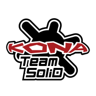 Logo of Kona Team SoliD red