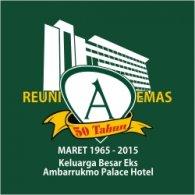 Logo of Reuni Emas 50 Tahun Ambarrukmo Palace Hotel