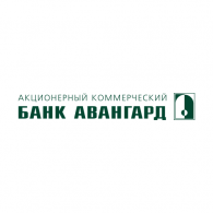 Logo of Bank Avangard