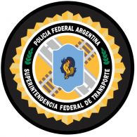 Logo of Policia Federal Argentina - Transporte - Argentina Federal Police - Transport Security