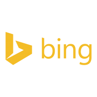 Logo of Bing