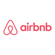 Logo of Airbnb