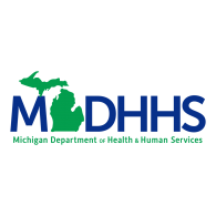 Logo of MDHHS Michigan Department of Health & Human Services