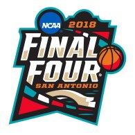 Logo of NCAA Men's Basketball - 2018 Final Four San Antonio, TX