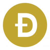 Logo of Dogecoin