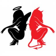 angel and devil brands of the world download vector logos and rh brandsoftheworld com angel logo design angel logo design creator