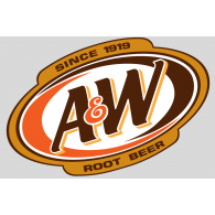 Logo of A&W Root beer