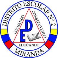 Logo of Distrito Escolar N° 2 Miranda