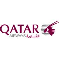 Logo of Qatar Airways