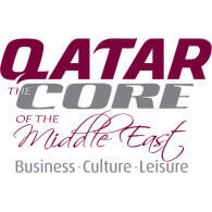 Logo of QATAR Core of the Middle East