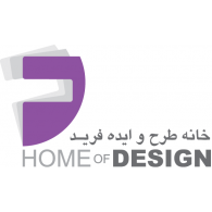 Logo of Farid - Home of design