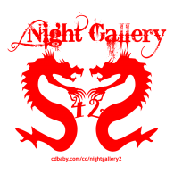 Logo of Night Gallery