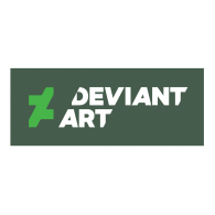 Logo of DeviantArt