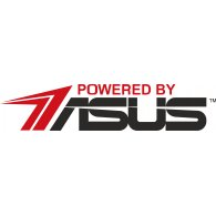 Logo of Powered By Asus