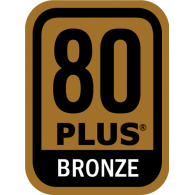 Logo of Power Supply 80 PLUS Bronze Certification