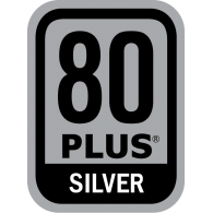 Logo of Power Supply 80 PLUS Silver Certification