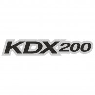 Logo of Kawasaki Kdx 200