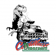 Logo of Cadillacs and Dainosaurs