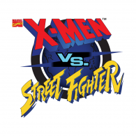 Logo of X-Men vs Street Fighter