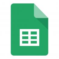 Logo of Google Sheets