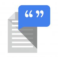 Logo of Google Text to Speech