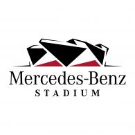 Logo of Mercedes Benz Stadium